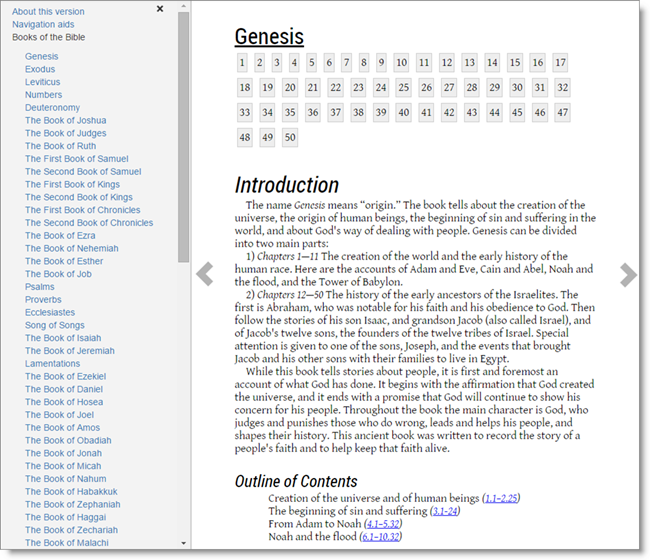 DBL generated ePub Genesis 1 example
